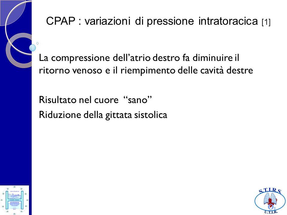 CPAP : variazioni di pressione intratoracica [1]